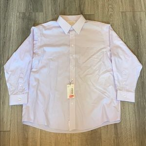 NWT Roundtree & Yorke Fitted Gold Label Oxford
